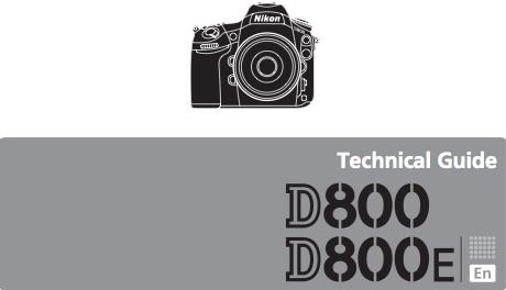 Guida tecnica della Nikon D800/D800E