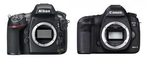 Nikon D800 vs Canon 5D Mark III