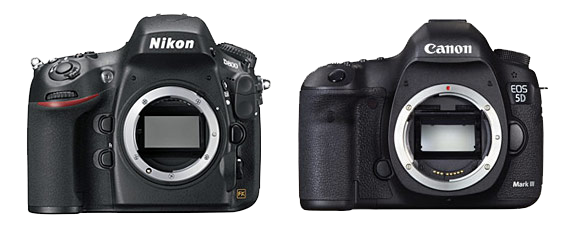 Confronto Nikon D800 e Canon Eos 5D Mark III