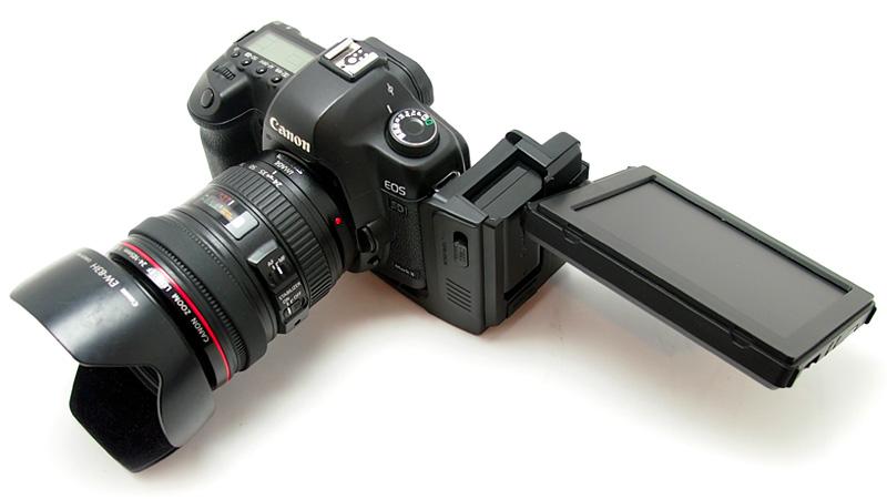 Aggiungere schermo da 5,6″ alla Canon 5D