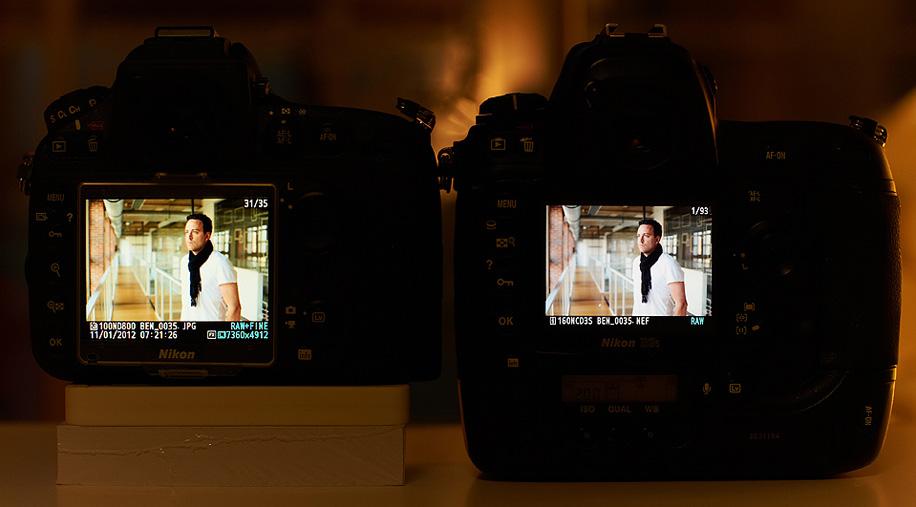 Display Nikon D800/D4