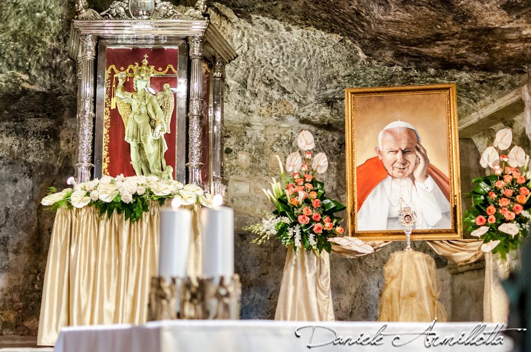 [FOTO] Commemorazione della venuta a Monte S. Angelo di Giovanni Paolo II