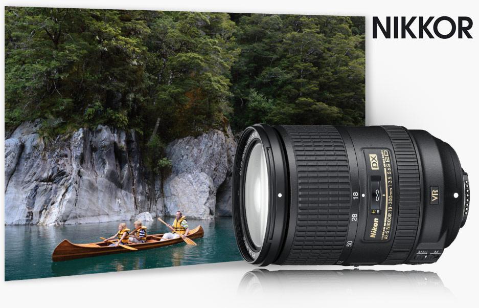 Nikon 18-300mm f/3.5-5.6G VR DX