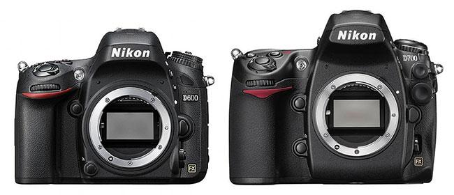 Conrtonto Nikon D600 vs Nikon D700