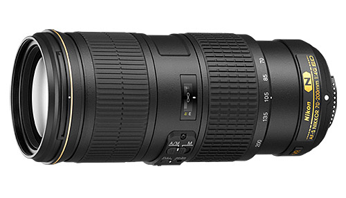 Confronto specifiche tra Nikkor 70-200mm f/4G ED VR vs 70-200mm f/2.8G ED VR II