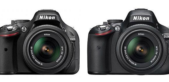 Nikon D5200 vs D5100