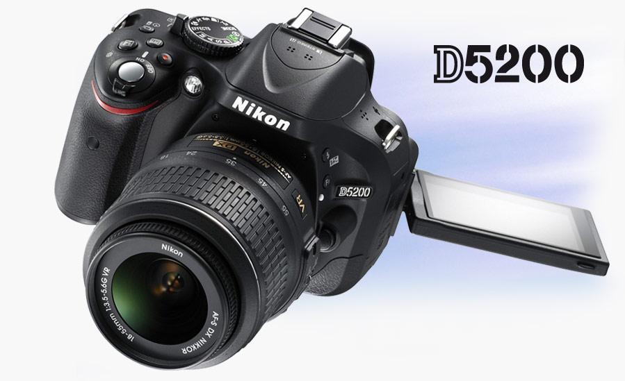 Annuncio ufficiale Nikon D5200