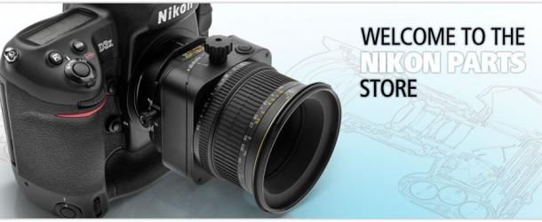 Nuovo shop per pezzi di ricambio Nikon