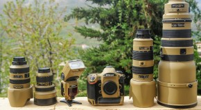 Nikon in veste militare