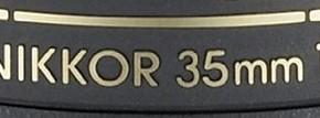 Nikkor 35mm f/1.8G FX e 18–55mm f/3.5–5.6G DX