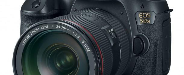Canon 5DS e 5DS R prime immagini