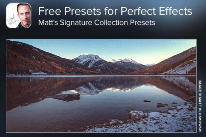 Preset gratuiti per onOne Perfect Effect