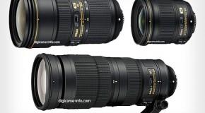 Rumors Ottiche Nikon: 24-70mm f/2.8 VR, 24mm f/1.8, 200-500mm f/5.6 VR