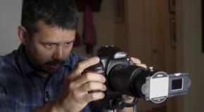 Digitalizzare pellicole con Nikon D850 e adattatore Nikon ES-2